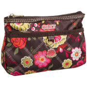 Косметичка Flat Cosmetic bag Brown Oilily
