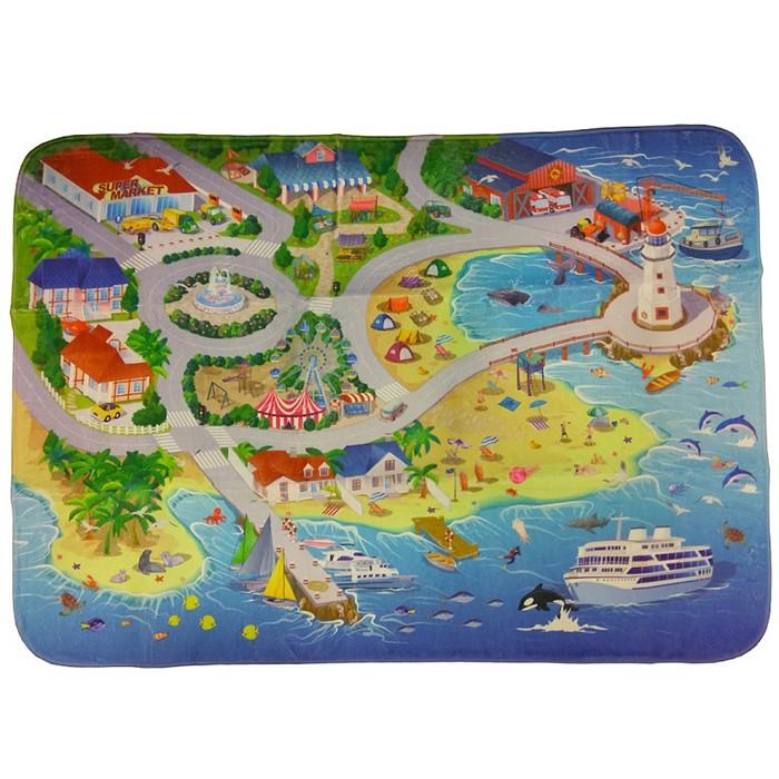 Складной игровой коврик На пляже TeploKid 130x180 см купить недорого ... 3bbe33ca6c5