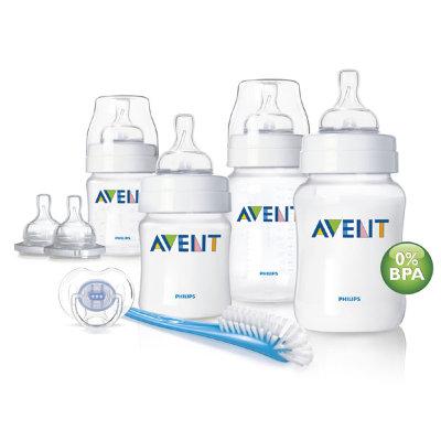 Виды бутылочек для новорожденных